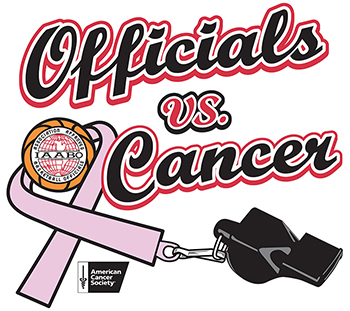 Officials Vs Cancer Logo